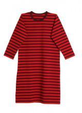 Marimekko Tasaraita Kids Pitkämekko Nachthemd rot dunkelrot