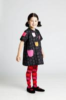 Marimekko Unikko rot pink Strumpfhose