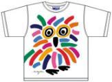Bo Bendixen Kids T-Shirt Eule weiß