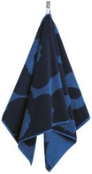 Marimekko Unikko Handtuch 50x100 cm blau