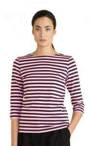 marimekko-tasaraita-ilma-t-shirt-pflaume-pink