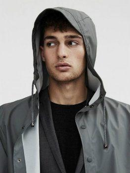 Rains Jacket grau