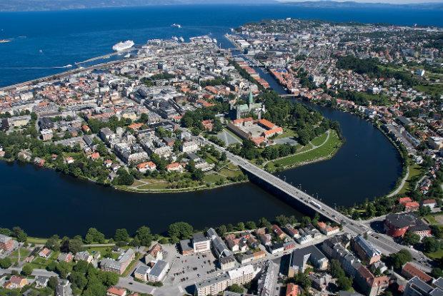 @wikipedia – beagle84 / File Upload Bot (Magnus Manske); Bildquelle: Flickr, Nidelva og Trondheim / Åge Hojem/Trondheim Havn