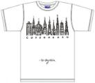 Bo Bendixen T-Shirt Kopenhagen schwarz weiß
