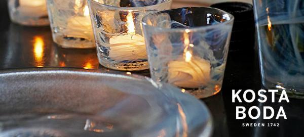 Kosta Boda Glaskunst aus Schweden