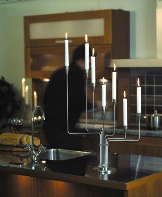 Piet Hein Kerzenständer Tisch stahl Großer Bär