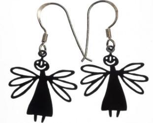 bengt-lotta-angel-dragonfly-schwarz-ohrring-2-stueck