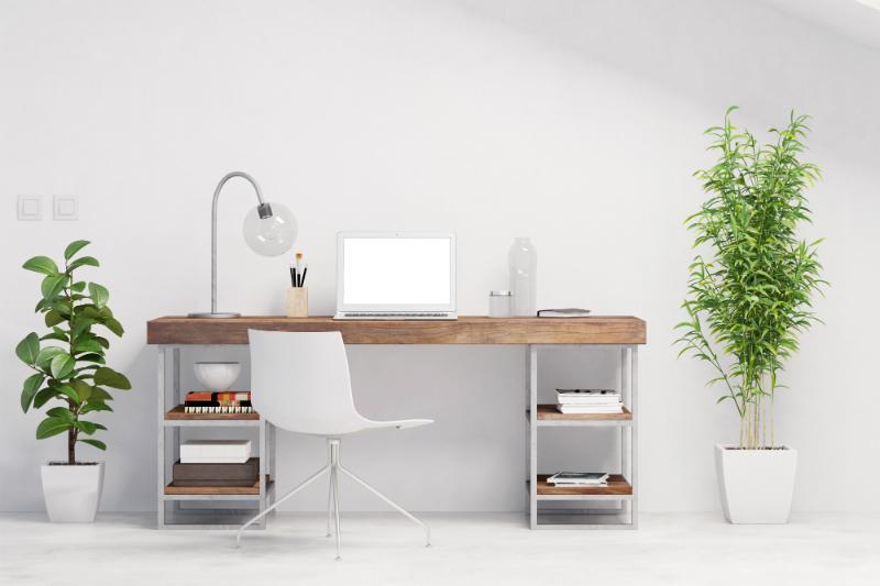 schreibtisch organisieren und gestalten scandinavian. Black Bedroom Furniture Sets. Home Design Ideas