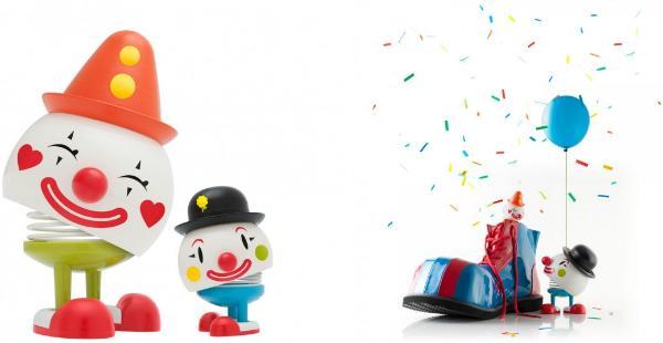 Hoptimist Clown Bobo Baby Höhe 9 cm