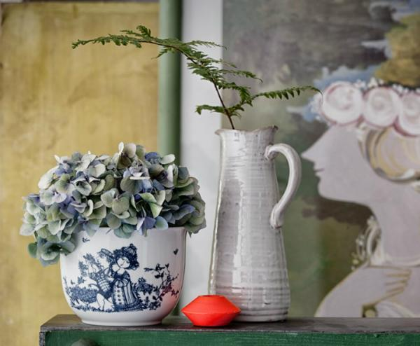Bjorn Wiinblad Rosengarten Blumenuebertopf Hoehe 12 cm