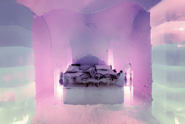 Eishotel Sorrisniva Suite