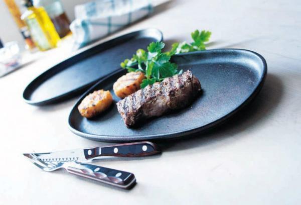 Gense Le Gourmet Grillteller Laenge 30 cm 2 Stueck