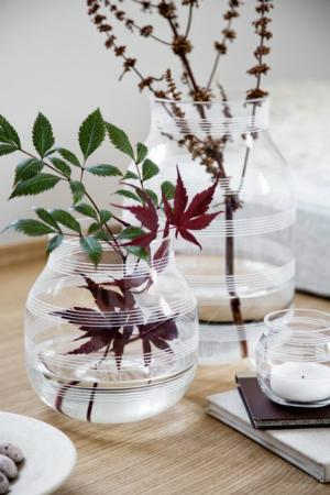 Kaehler Design Omaggio Vase Glas Hoehe 17 cm