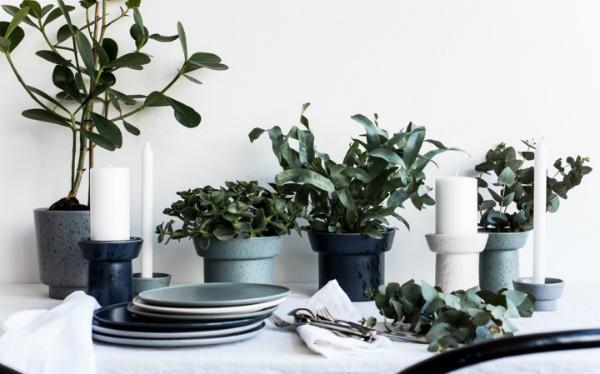 Kaehler Design Ombria Vase Hoehe 20 cm