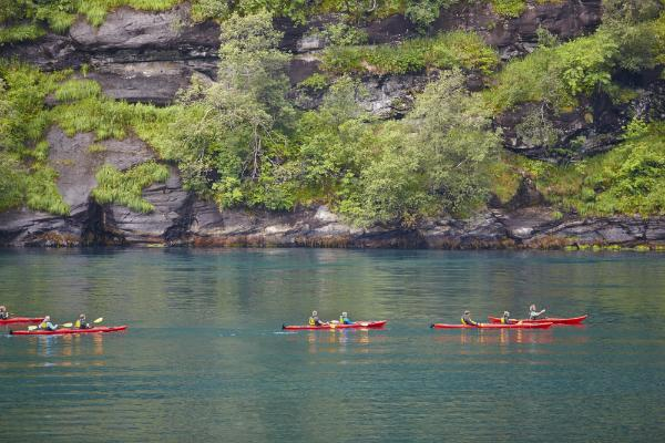 Eine Kanutour in Norwegen - für Anfänger und Profis geeignet