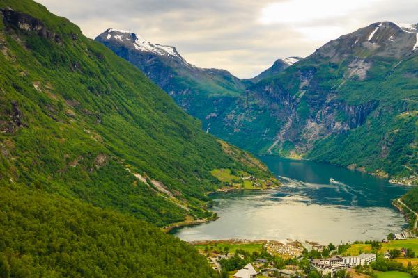 Der wundeschöne Geirangerfjord