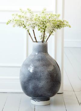 Kaehler Design Unico Vase Hoehe 55 cm
