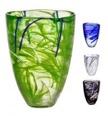 Kosta Boda Contrast Vase Hoehe 20 cm