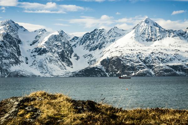 Der Lyngenfjord im Norden Norwegens