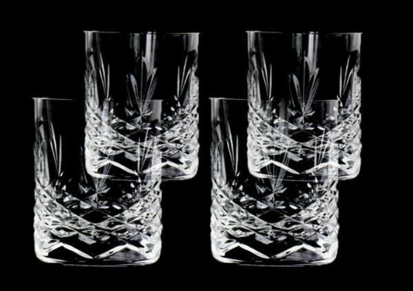 Frederik Bagger Crispy Crystal Mini Schnaps 6 cl 4 Stueck