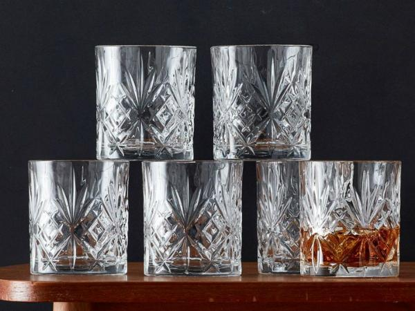 Lyngby Glas Kristall Melodia Whisky 31 cl 6 Stueck