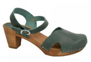 Sanita Clogs Wood Matrix Flex Sandale khaki
