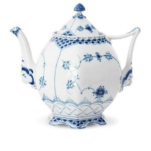 Royal Copenhagen Musselmalet Vollspitze Teekanne 1 Liter