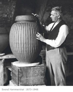Kähler Design Hammershøi Vase Höhe 25 cm