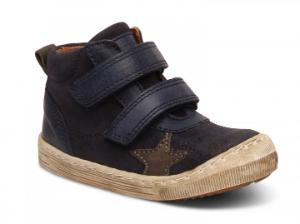 Bisgaard Sneaker Star mit Klettverschluss blau