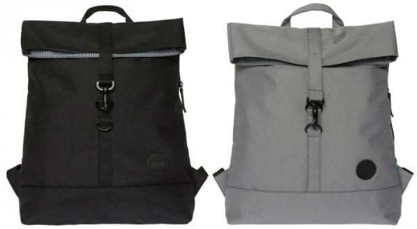 Enter Accessories City Fold Top Stoff-Rucksack