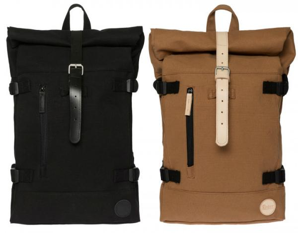 Enter Accessories Hiker Roll Top Canvas Rucksack