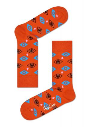 Happy Socks Cry Baby rotorange Struempfe