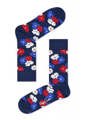 Happy Socks Kimono blau Struempfe