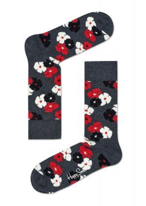Happy Socks Kimono grau Struempfe