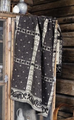 Roros Tweed Kristin Wolldecke 130x200 cm