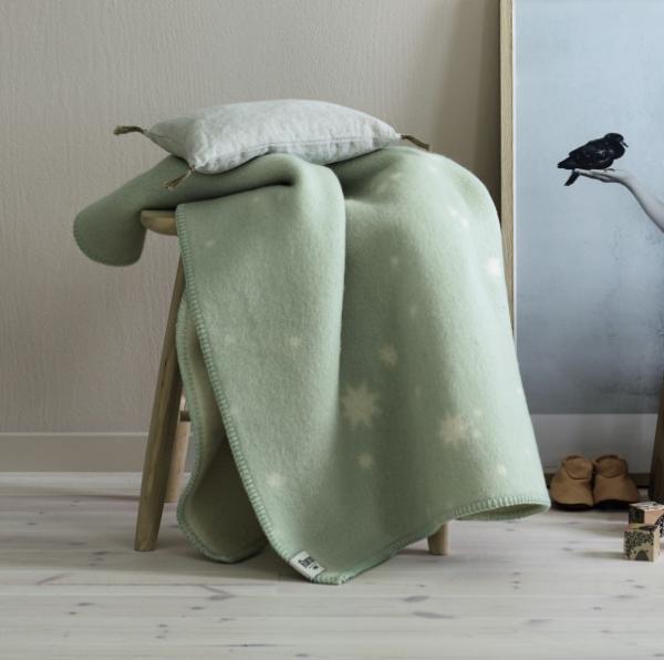 Roros Tweed Orion Wolldecke 65x100 cm
