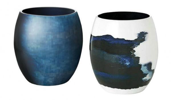 Stelton Stockholm Vase Hoehe 22 cm