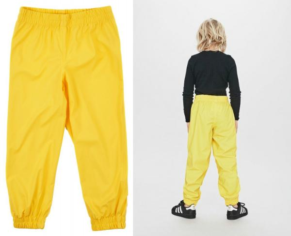 Sways Ocean Kinderregenhose gelb