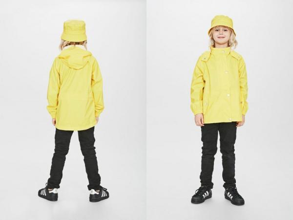 Sways Sail Kinderregenjacke gelb