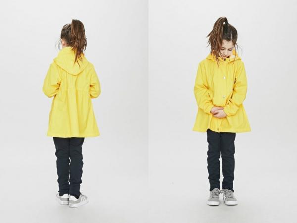 Sways Tulle Kinderregenjacke gelb