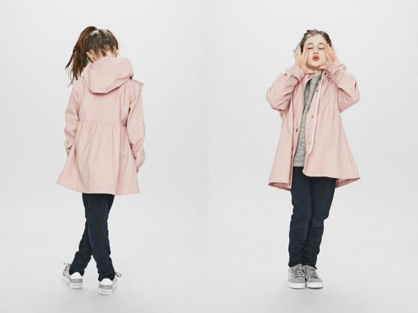 Sways Tulle Kinderregenjacke rosa