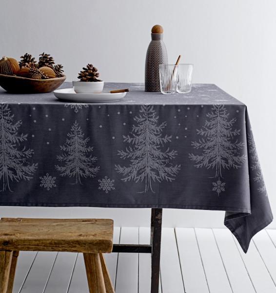 Tischdecke Winterland von Soedahl blau