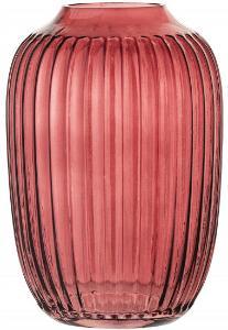 Bloomingville Vase Glas Hoehe 14 cm