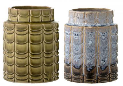 Bloomingville Vase Keramik Hoehe 12,5 cm