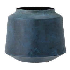 Bloomingville Vase Metall Hoehe 15 cm