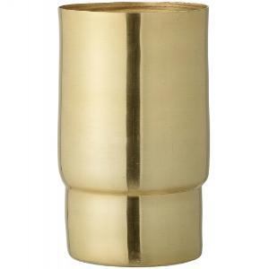 Bloomingville Vase Metall Hoehe 17 cm