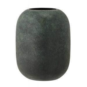 Bloomingville Vase Metall Hoehe 18 cm