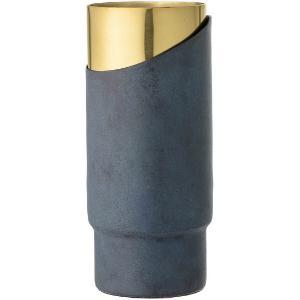 Bloomingville Vase Metall Hoehe 23 cm