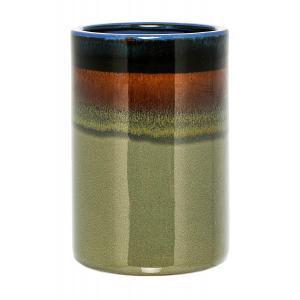 Bloomingville Vase gruen Hoehe 21 cm