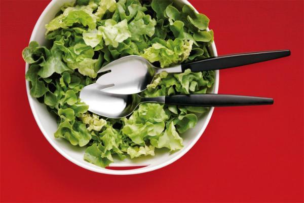 Gense Focus de Luxe Salatbesteck 2 teilig
